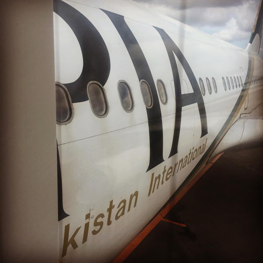 パキスタン出張。PIAパキスタン航空