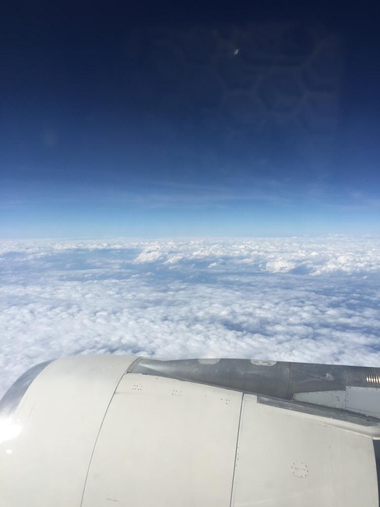 パキスタン出張。PIAパキスタン航空の空の旅