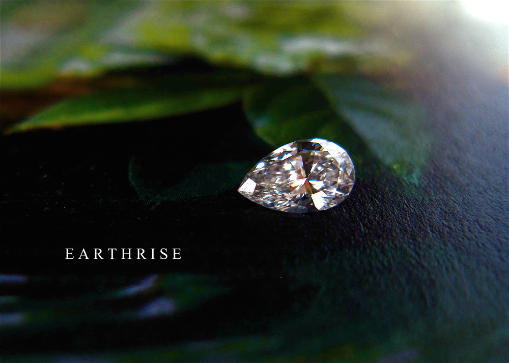 エシカルダイヤモンド。ペアシェイプ(しずく型