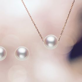人と自然にやさしいエシカルなあこやパール(真珠)(ネックレス、ピアス)