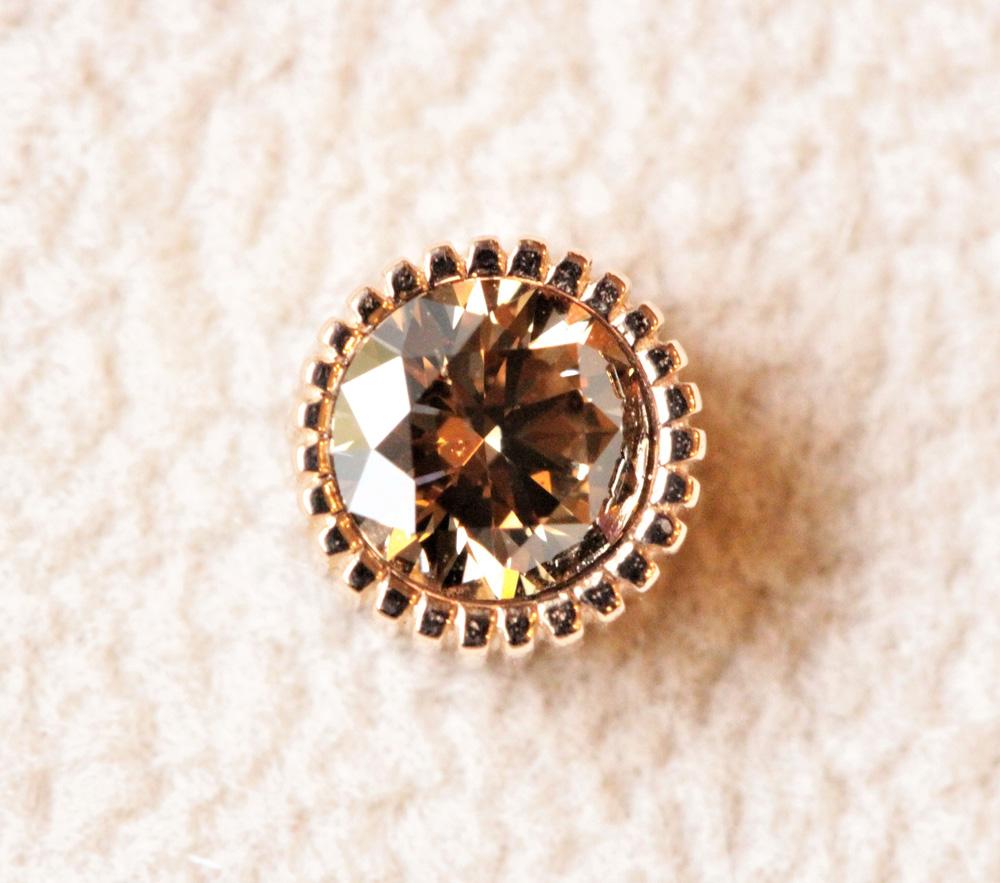エシカル・ブラウンダイヤモンド&ローズプラチナゴールド(ピンクゴールド)