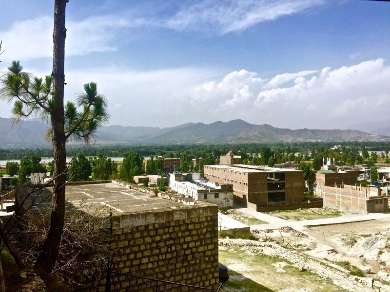 タリバンの拠点があった場所@スワート、パキスタン