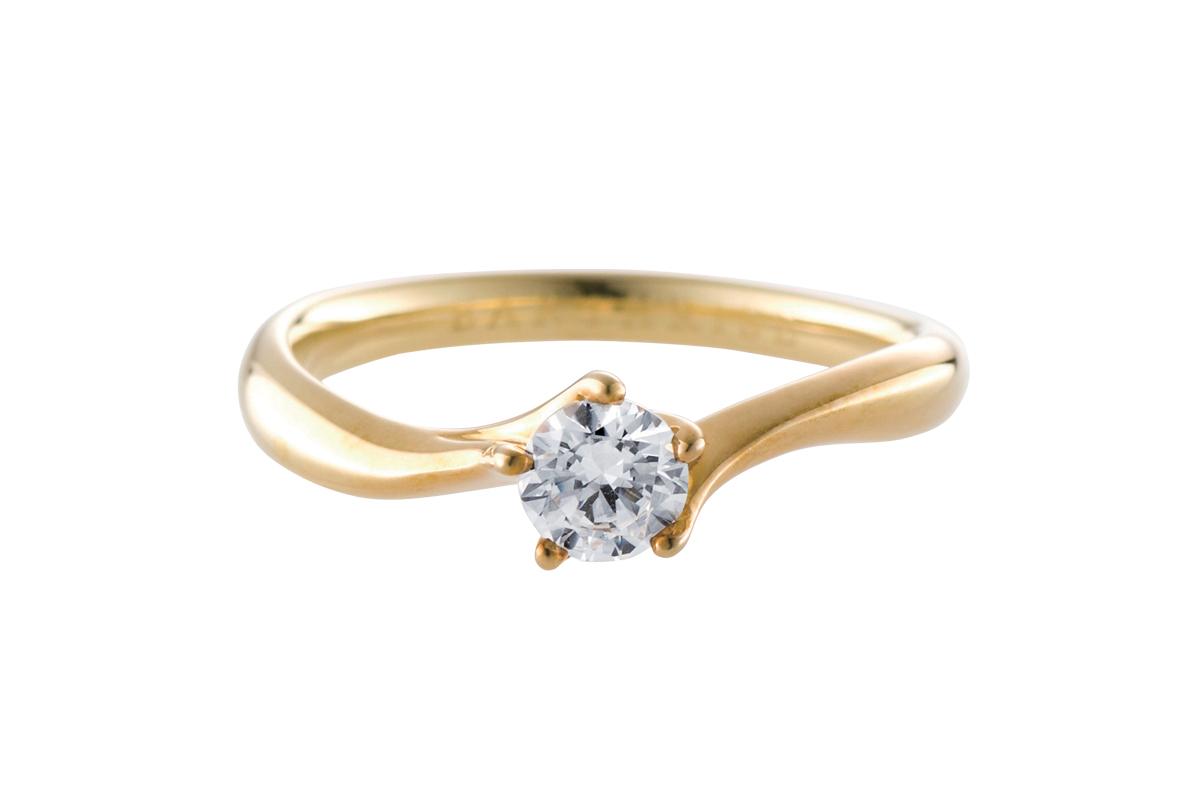 エシカルジュエリー婚約指輪 星彩