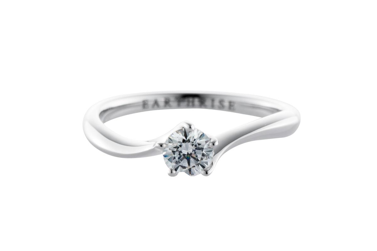 エシカルジュエリー婚約指輪 星彩S