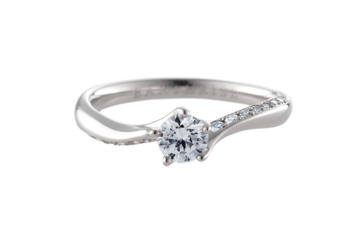 エシカルジュエリー婚約指輪 星河