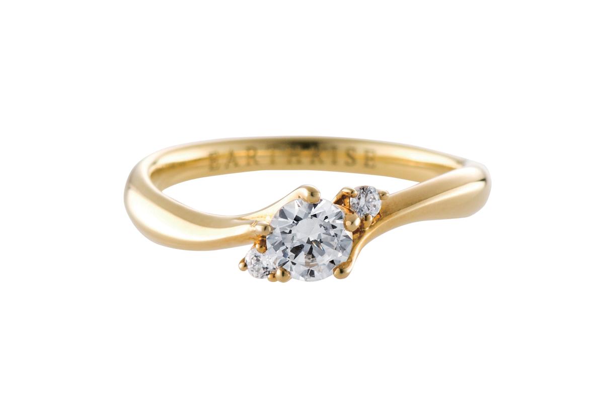 エシカルジュエリー婚約指輪 きらめき