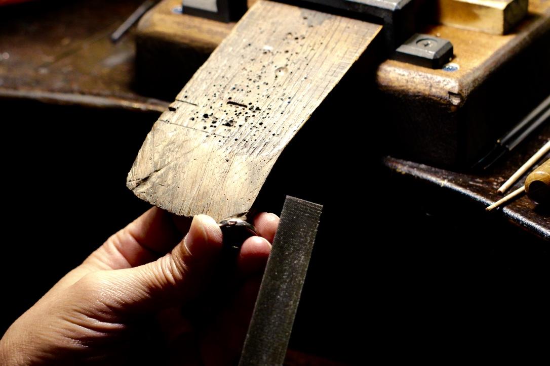日本とイタリアの技術と感性を活かした熟練の職人技
