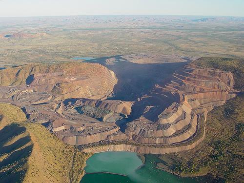 オーストラリア・アーガイル鉱山
