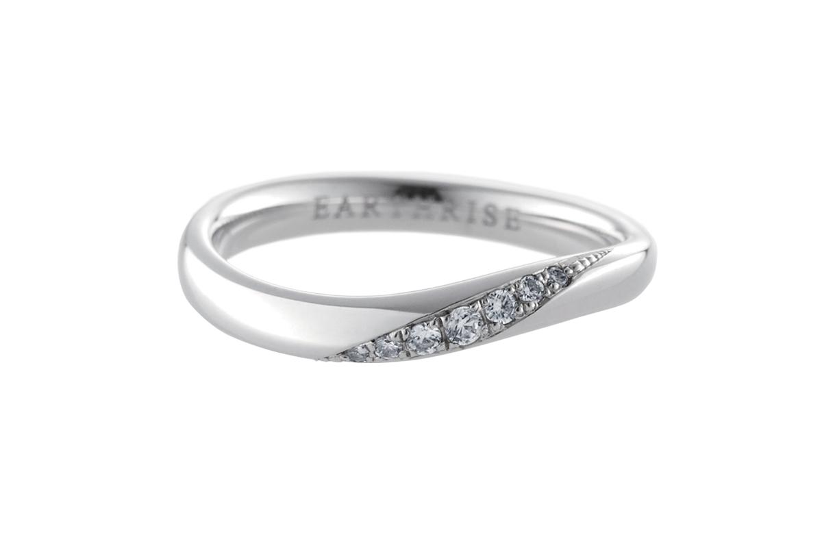 エシカルジュエリー 結婚指輪 きらめき S