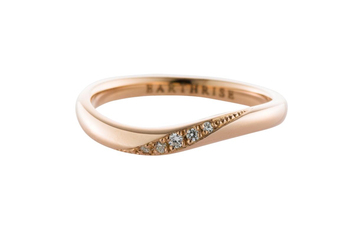 エシカルジュエリー 結婚指輪 きらめき SS