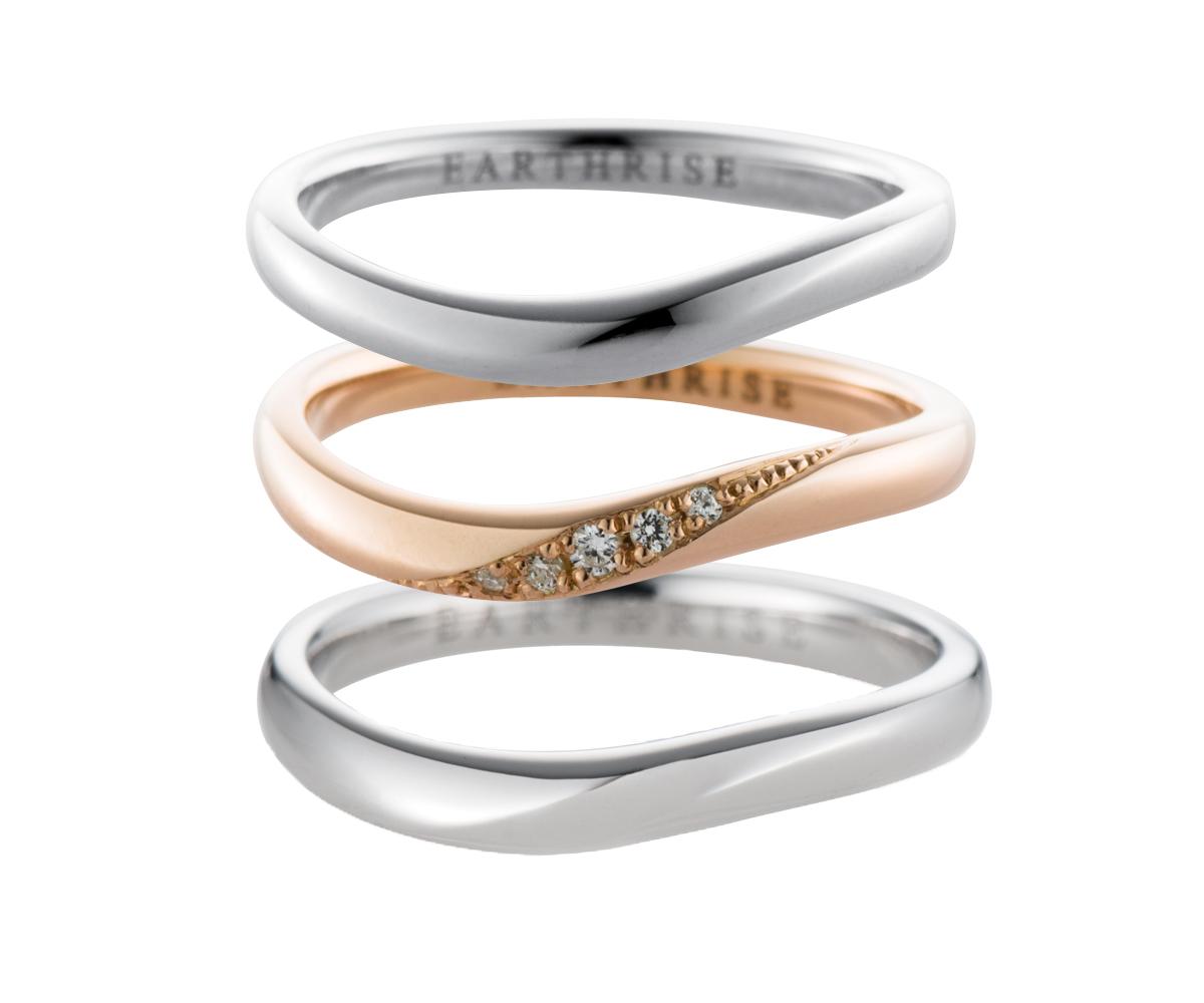 エシカルジュエリー 結婚指輪 星河 SS、きらめきSS、星河S