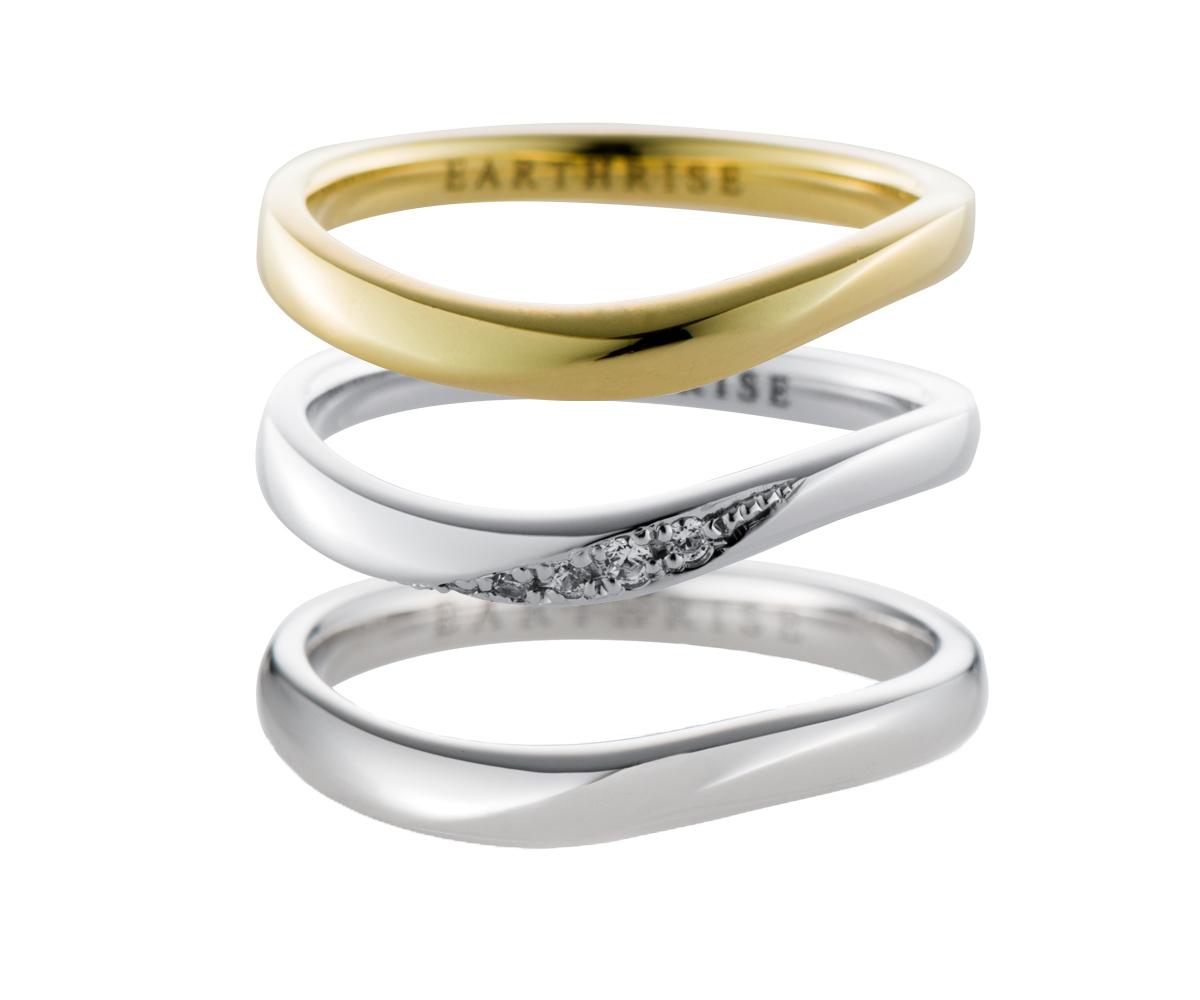 エシカルジュエリー 結婚指輪 星河MSS、きらめきSS、星河MS