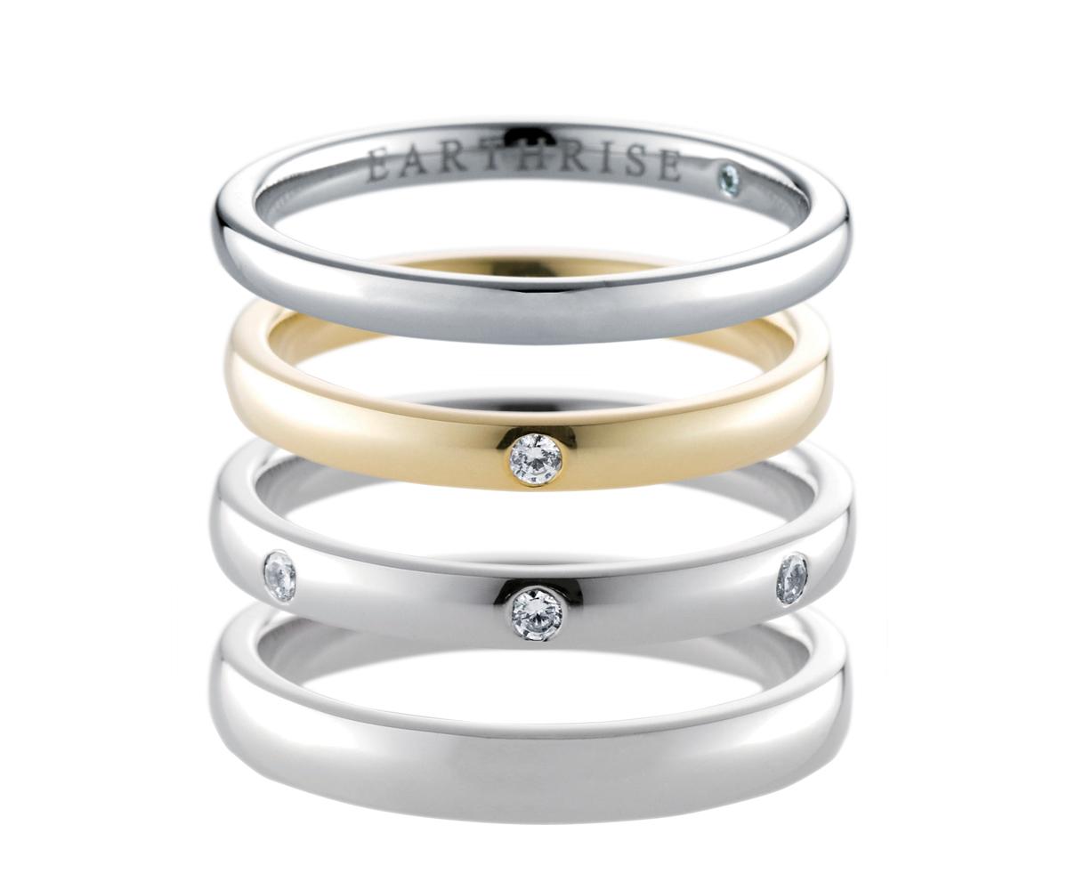 エシカルジュエリー 結婚指輪 earth