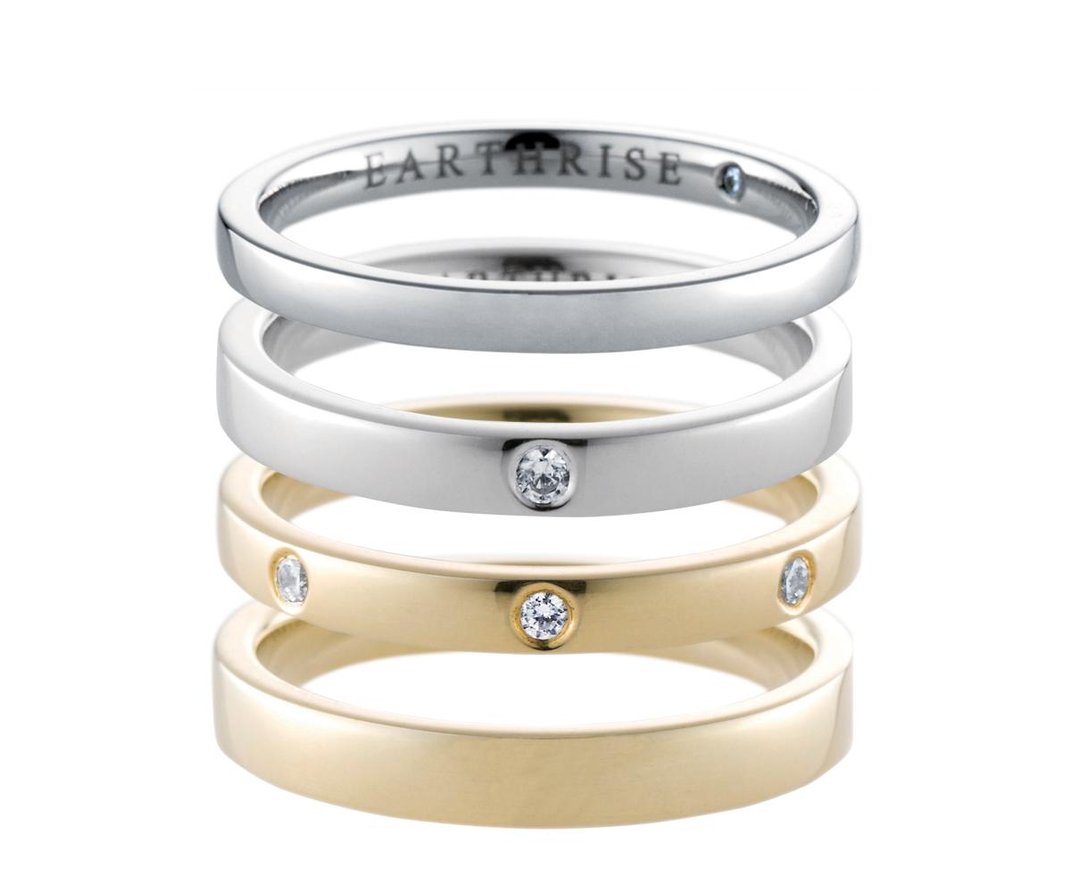 エシカルジュエリー 結婚指輪 sky