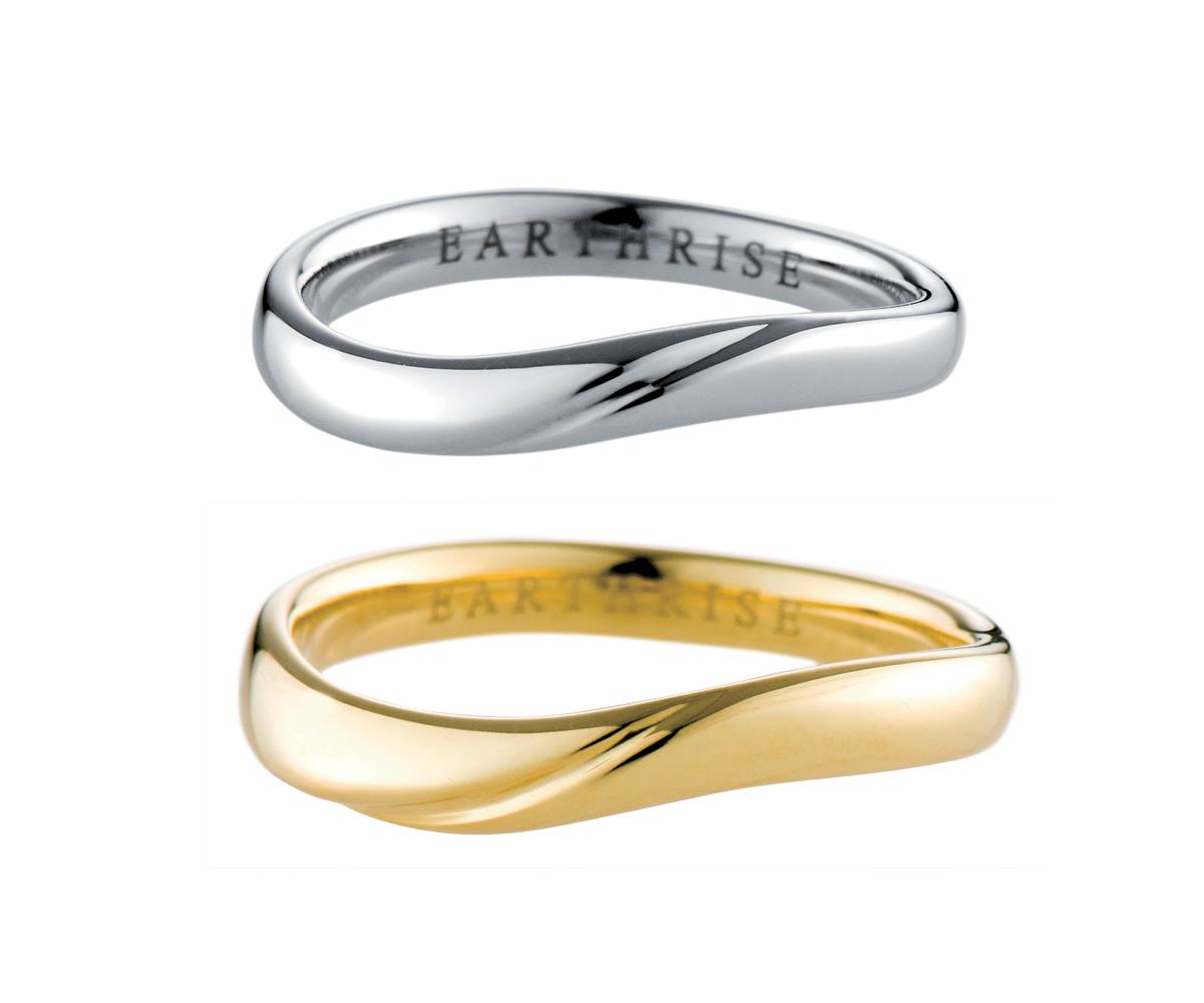エシカルジュエリー 結婚指輪 凪