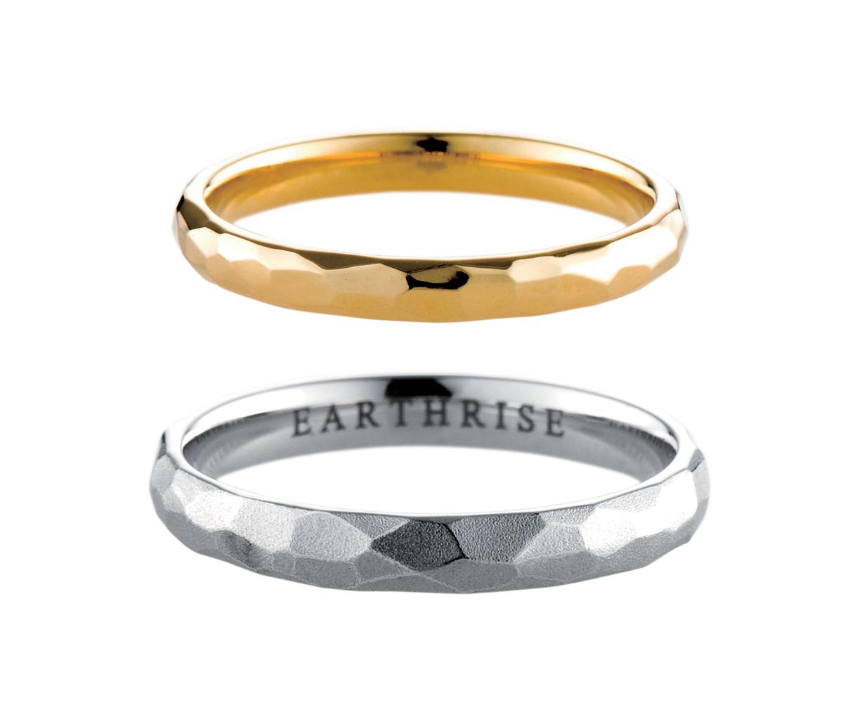 エシカルジュエリー 結婚指輪 晶