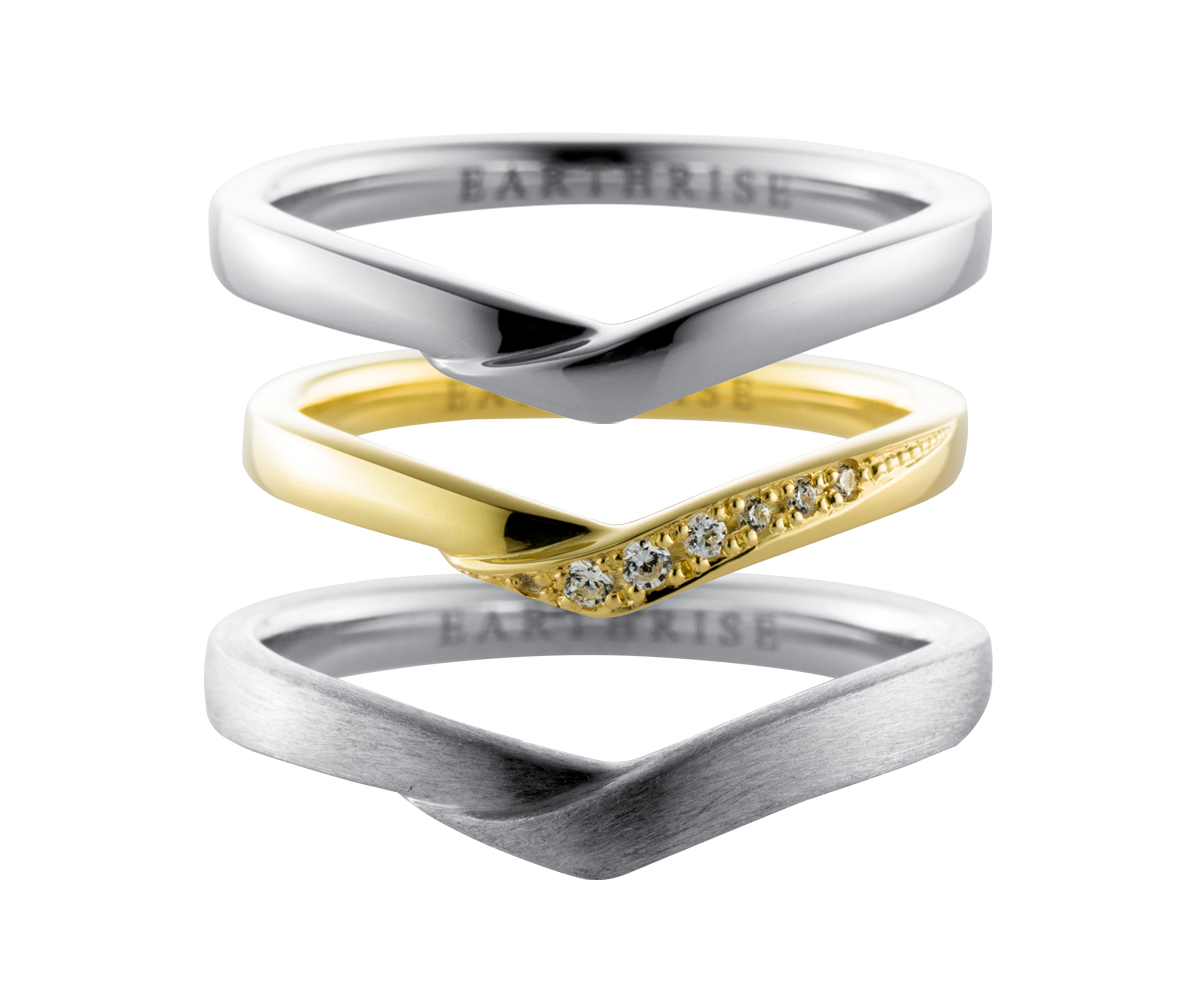 エシカルジュエリー 結婚指輪 萌
