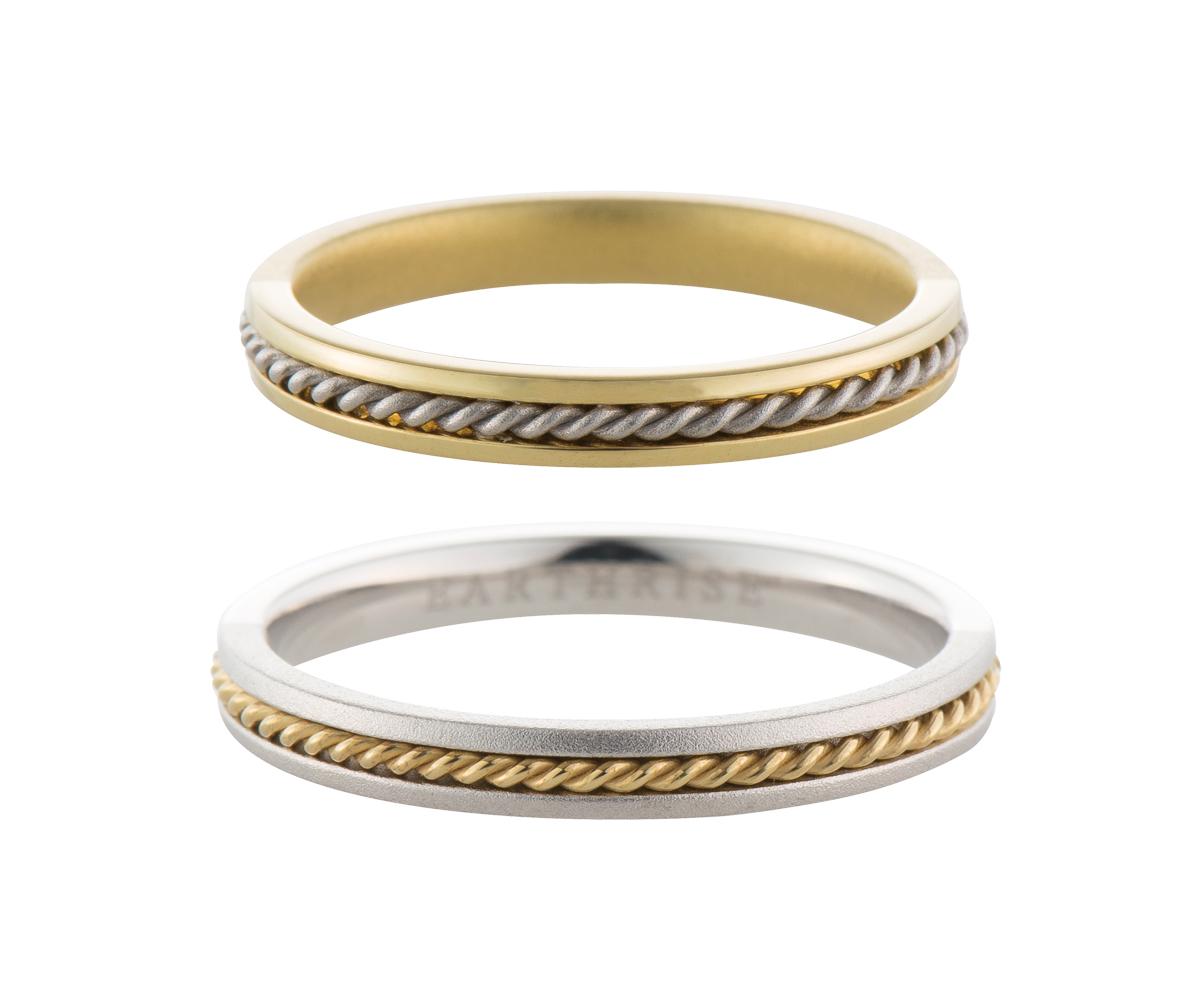 エシカルジュエリー 結婚指輪 縁
