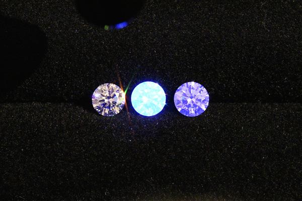 ネオンブルー(アースライズブルー)ダイヤモンド