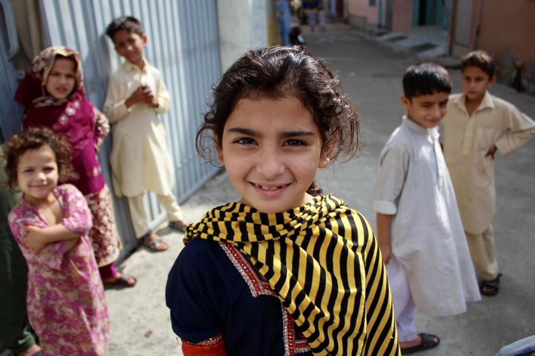 パキスタン・スワート渓谷の子供たち