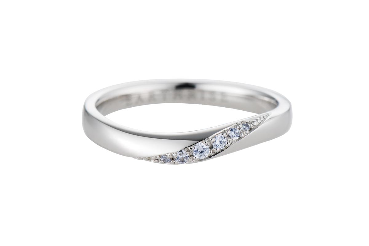 エシカルジュエリー 結婚指輪 きらめき MS
