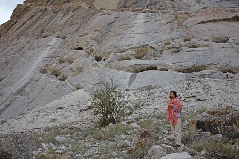 アクアマリン鉱山@パキスタン