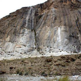 ヒマラヤ連山の一角にある、アクアマリン鉱山@パキスタン