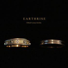 エシカルジュエリー〔古代オリエント〕デザインの結婚指輪