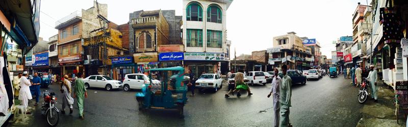 バザール@スワート渓谷、パキスタン