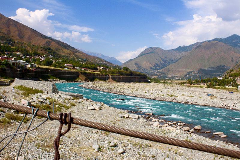 スワート川@スワート渓谷、パキスタン