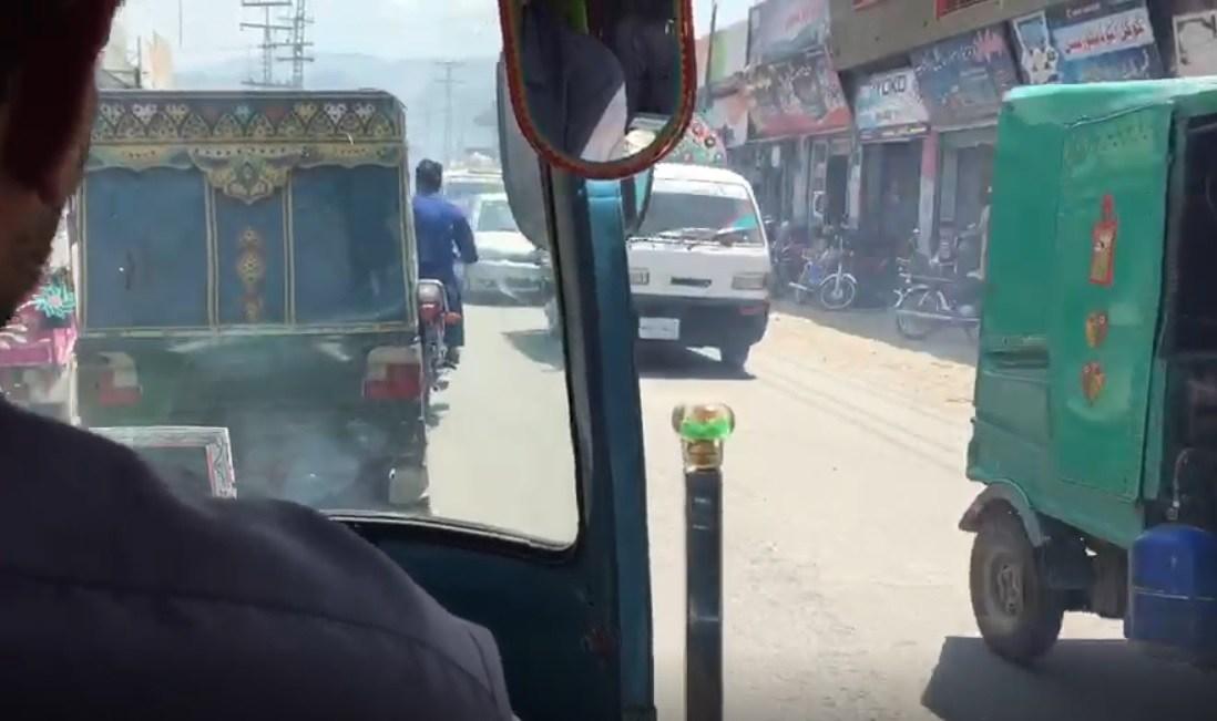 スワートのバザール@パキスタン(動画)