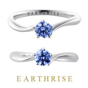 スリランカ産ブルーサファイア(エシカル・フェアトレード)婚約指輪