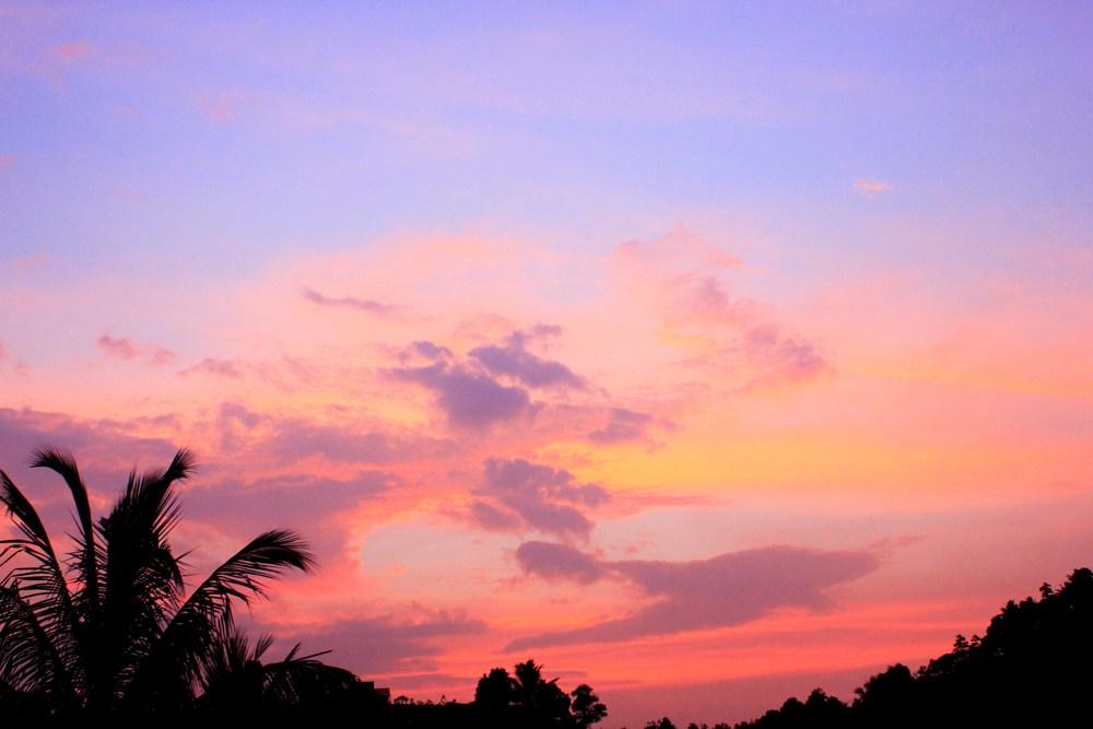 スリランカのサンセット