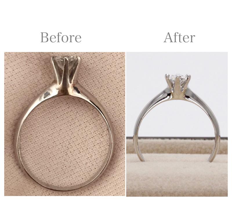 リメイク(ダイヤモンドの婚約指輪)