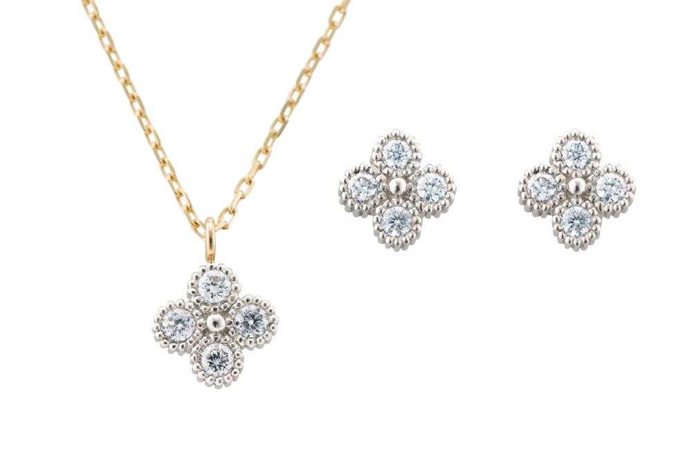 La foresta fiore お花モチーフのエシカルダイヤモンド