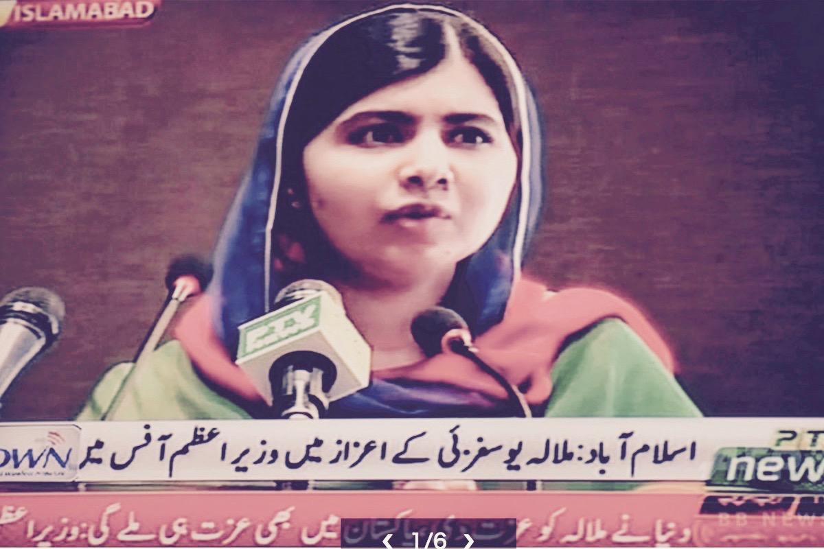 マララさんパキスタン帰国