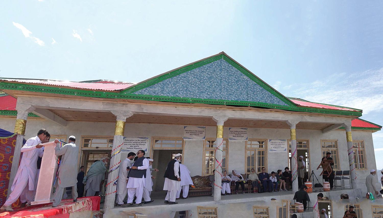 パキスタン・スワート渓谷に学校設立11
