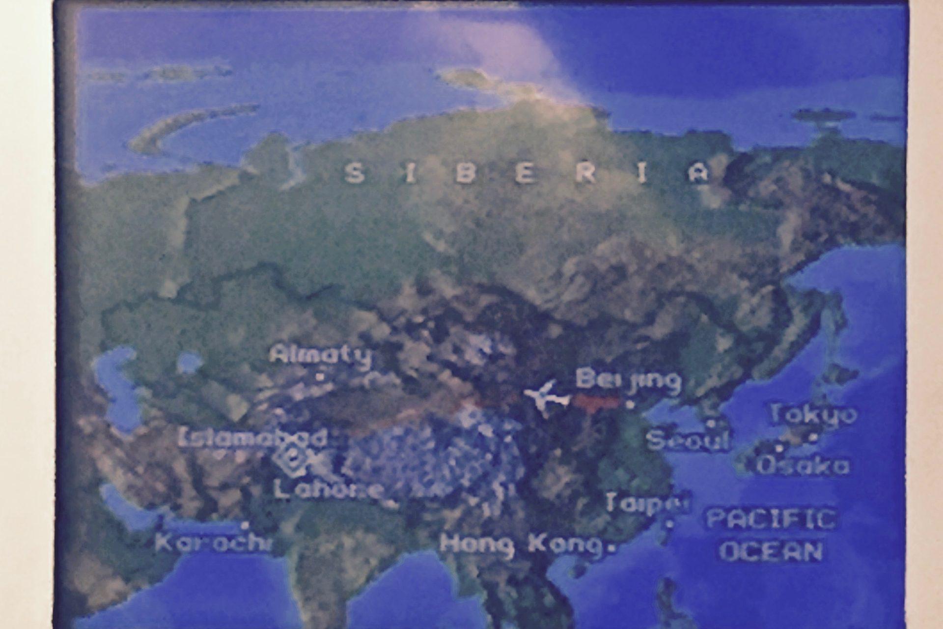 PIA空路。北京ーイスラマバード