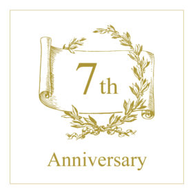 7th アニバーサリー(7周年)