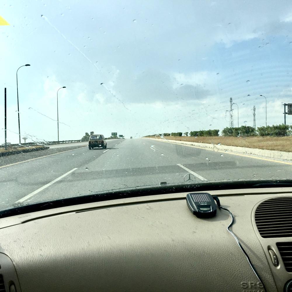 イスラマバードからスワートへ。雨が・・