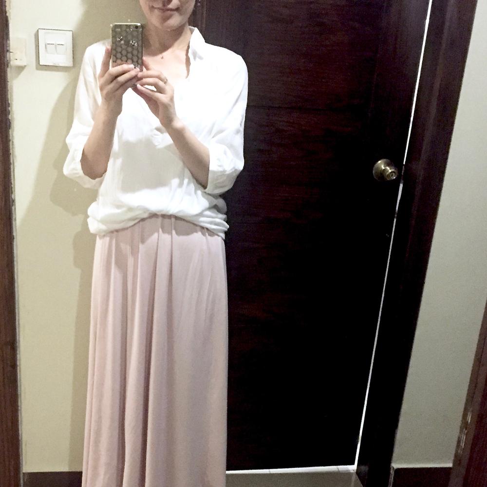 今日の服装@イスラマバード
