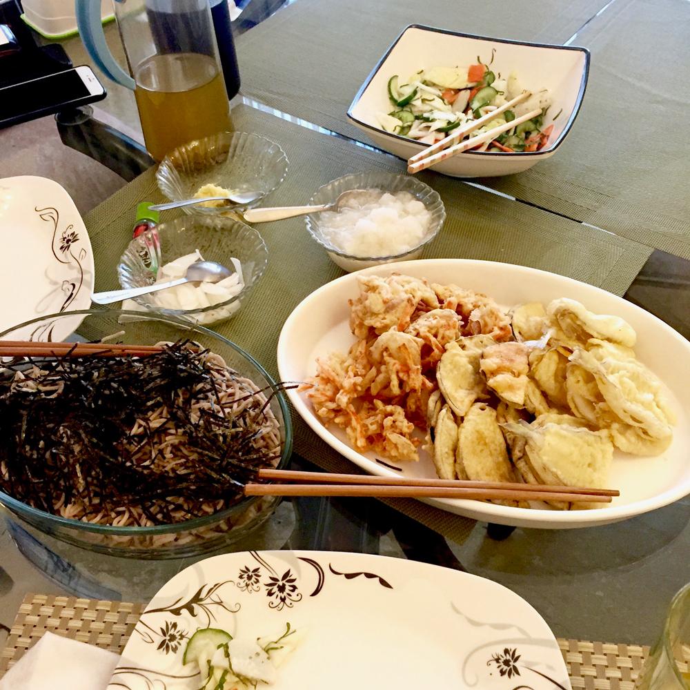 イスラマバードでの日本食